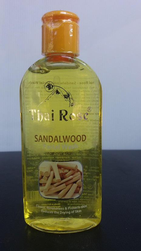 All - Thai Rose Face Wash Sandalwood 100ml