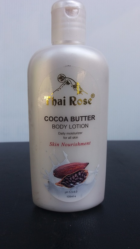 All - Thai Rose Body Lotion Cocoa Butter 100g