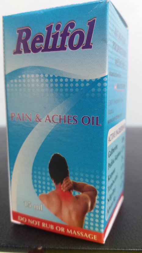 All - Relifol Pain and Aches Oil 25ml