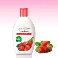 All - Body Lotion-Chandanalepa-Strawberry 100ml Rs 195/=