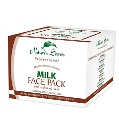 All - Milk Face Pack-Nature Secrets-