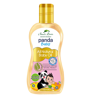 All - Panda Baby All Natural Baby Oil-Nature Secrets-100ml