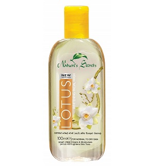 All - LOTUS WHITENING FACE WASH-NATURE SECRETS-100ml