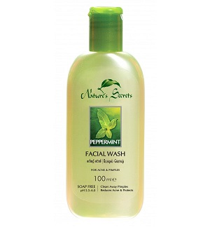 All - PEPPERMINT FACE WASH-NATURE SECRETS-100ml