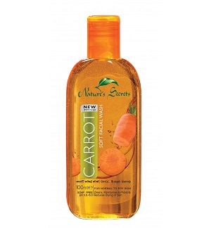 All - Carrot Soft Facial Wash-Nature Secrets-100ml