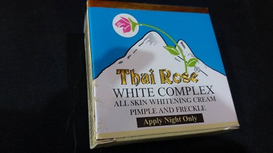 All - Thai Rose Face Whiting Cream 8.5g-10g
