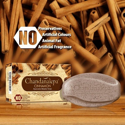 All - Ayurveda Herbal Soap-CINNAMON Chandanalepa-100g