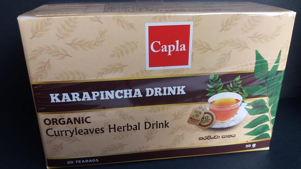 All - KARAPINCHA DRINK- ORGANIC (CURRY LEAVES) 30g Capla