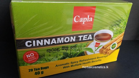 All - CINNAMON TEA 40G CAPLA