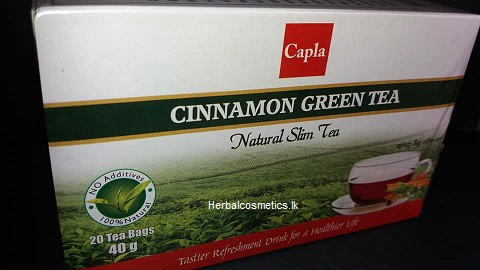 All - CINNAMON GREEN TEA 40G -CAPLA