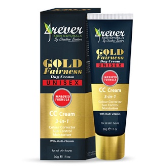 All - GOLD FAIRNESS DAY CREAM CC -4REVER- 30G