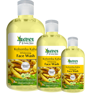 All - KOHOMBA KAHA WHITENING FACE WASH 250ML -4REVER