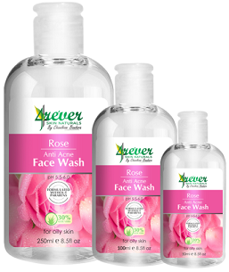 All - ROSE ANTI ACNE FACE WASH 250ML-4REVER