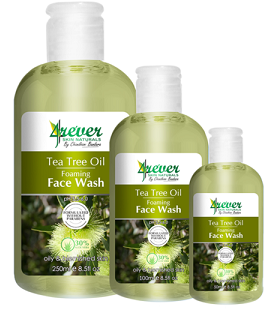 All - TEA TREE OIL FOAMING FACE WASH 250ML -4REVER