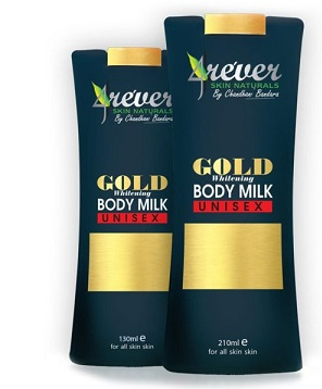 All - GOLD WHITENING BODY MILK -4REVER- 130ML