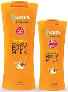 All - BODY MILK VENIVEL  MOISTURISING -4REVER- 130ML