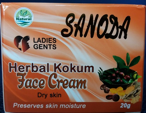 All - KOKUM FACE CREAM -SANODA -20G