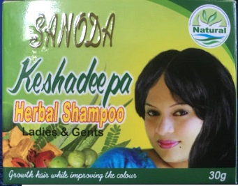 All - KESHADEEPA HERBAL SHAMPOO 30G - SANODA