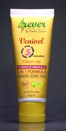 Leg Feet & Body Care - VENIVEL CLEAN UP 5 MINUTES 4EVER