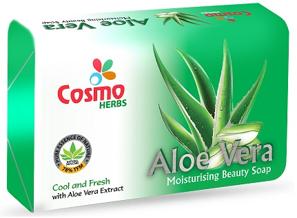 All - COSMO ALOE VERA SOAP - HERBAL