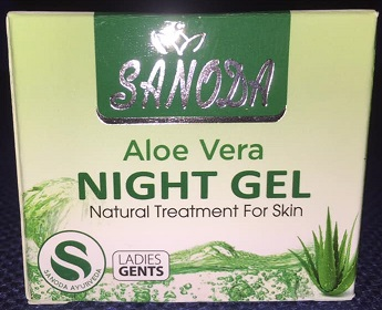 All - SANODA ALOE VERA NIGHT GEL 15G