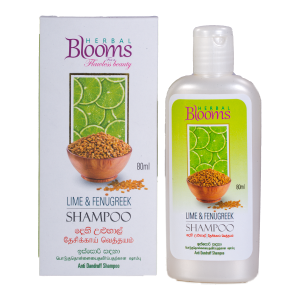 All - Herbal Blooms Lime & Fenugreek Shampoo 80ml
