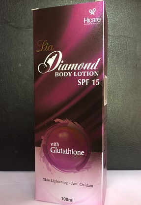 All - LIA DIAMOND BODY LOTION SPF-15 100ML