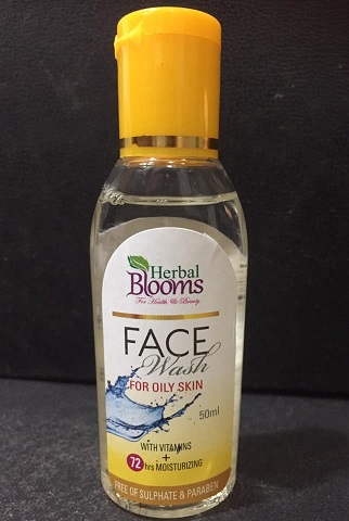 All - Herbal Blooms FACE WASH OILY SKIN 50ML