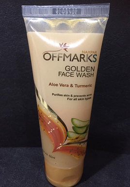 All - GOLDEN FACE WASH 50ML OFFMARKS