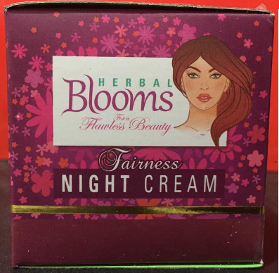 All - NIGHT CREAM HERBAL BLOOMS 20G