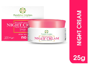 All - Swabha Ceylon Natural Brightening Night Cream 25g