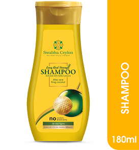 All - Swabha Ceylon Long and Strong Shampoo 180ml
