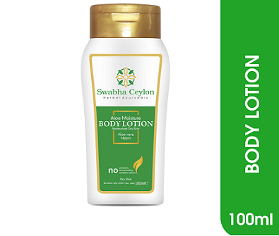 All - Swabha Ceylon Aloe Vera Moisturizing Body Lotion 100ml