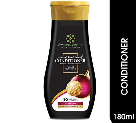 All - Swabha Ceylon Natural Black Shine Conditioner 180ml