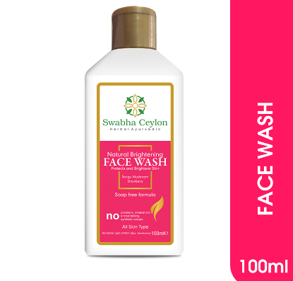 All - Swabha Ceylon Natural Brightening Face Wash 100ml