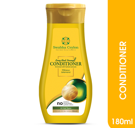 All - Swabha Ceylon Long and Strong Conditioner 180ml