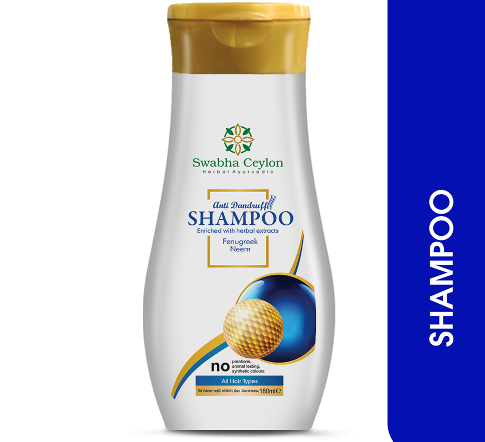 All - SWABHA CEYLON ANTI DANDRUFF SHAMPOO  180ML