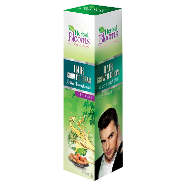 All - HERBAL BLOOMS HAIR GROWTH CREAM-MEN CARE 75G