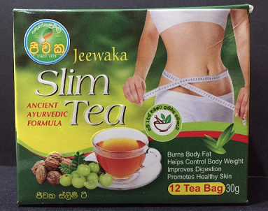 All - JEEWAKA SLIM TEA -12 Tea Bags -30g