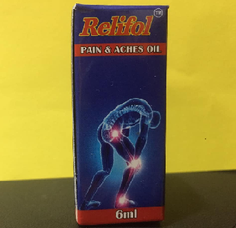 PAIN RELIEF OIL & BARM  - Relifol Pain and Aches Oil 6ml