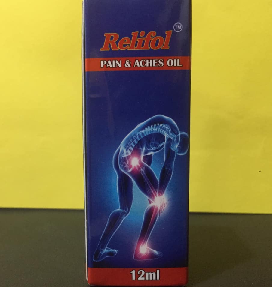 PAIN RELIEF OIL & BARM  - Relifol Pain and Aches Oil 12ml