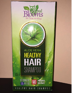 All - HERBAL BLOOMS ALOE VERA HEALTHY HAIR SHAMPOO 80ML